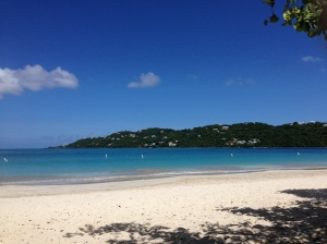Beautiful Magen's Bay Beach