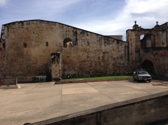 Front of San Cristobal Castle