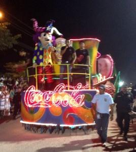 Coke! Let the parade begin.