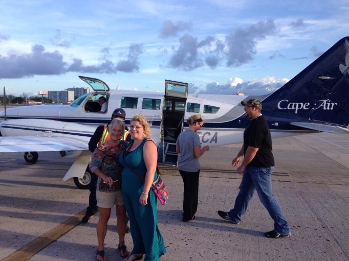 Heading to the Caribe