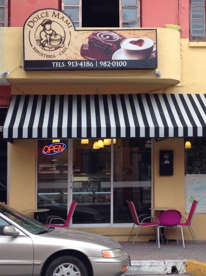 Neighborhood cake shop, oh so good!