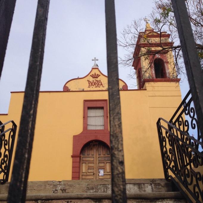 San Jose, Oldest church in Mazatlan, up the street